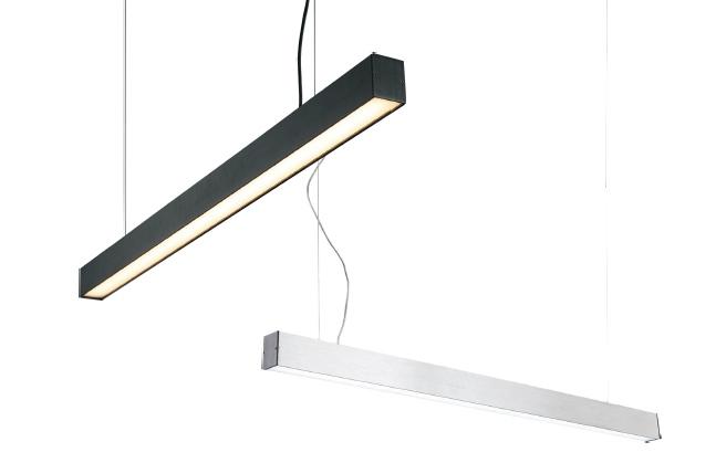 โคมไฟห้อยฟลูออเรสเซนต์ ใช้ห้อยเหนือโต๊ะทำงาน ใช้ห้อยในสำนักงาน เปลี่ยนหลอดได้