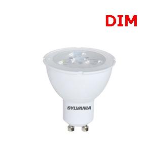 หลอดไฟLED-SYLVANIA-GU10-6W DIM