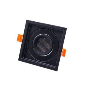 ดาวไลท์ MR16 ROTA-S1 สีดำ Honeycomb