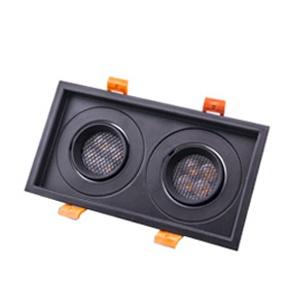 โคมไฟดาวน์ไลท์-ROTA-S2-BK-Honeycomb