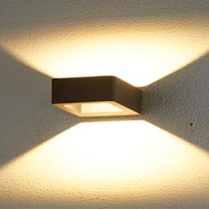โคมไฟติดผนังภายนอก LED SCOTT LED 6W