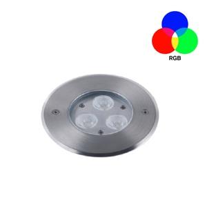 ไฟฝังพื้น ING-CRGB LED 3x3W