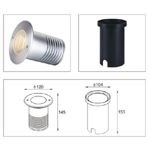 Drawing-ไฟฝังพื้น-UPLIGHT-LED-ING-120-15W