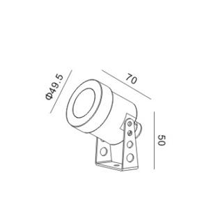 Drawing-SUW-3WW LED 3W
