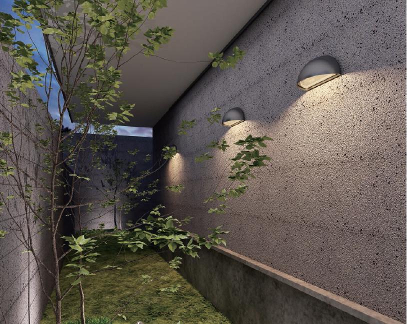 การเลือกโคมไฟติดผนังภายนอก outdoor wall lamp