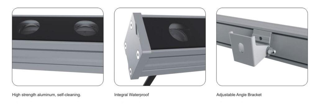 รายละเอียด โคม LED WALL WASHER 36W 24V