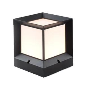 โคมไฟหัวเสา-DEVIN-M-E27 ใช้ภายนอก