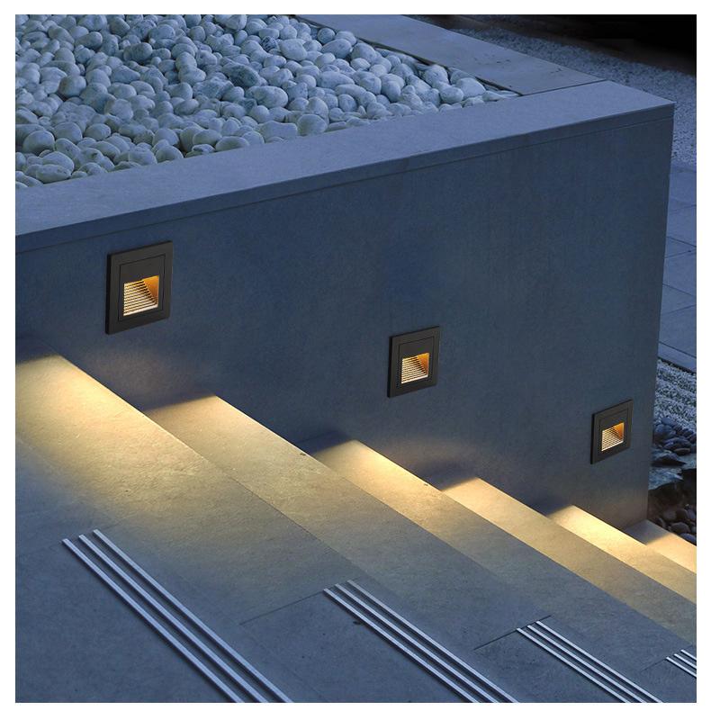ไฟบันได Step light ROTTY-S LED 3W ประหยัดไฟ กันน้ำ