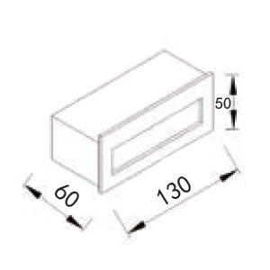 Drawing โคมไฟบันได-HASSELstep light-LED-5W 3000K