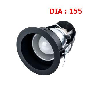 ดาวน์ไลท์สีดำ E27-LUXX-MBB-E27