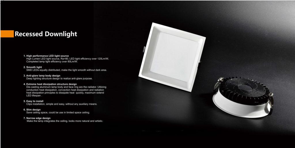 ดาวน์ไลท์ LED SMD รุ่นใหม่ ประหยัดไฟ ทนทาน